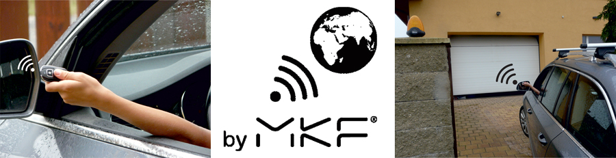 Dálkové ovládání bran a vrat MKF